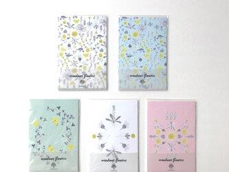 ポストカードセット・meadow flowersの画像