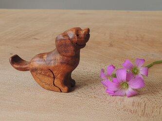 小さな犬の置物 №1の画像