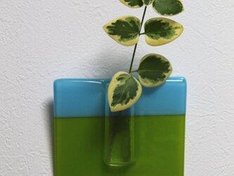 KAKE-BANA ブルー/ペールグリーンの画像