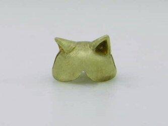 cat cap brassの画像