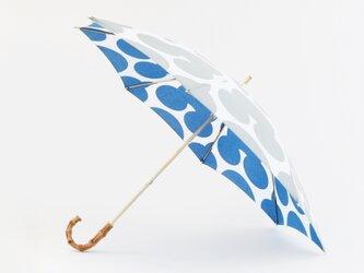 手ぬぐい日傘 かさねの色目〜冬凪〜の画像