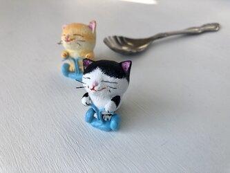 ニャグウェイ猫さん(白黒)の画像