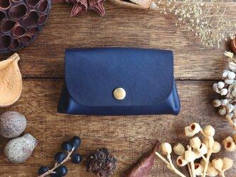 藍染の小さい財布の画像