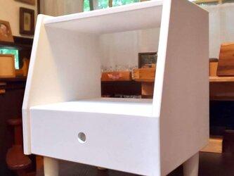 オーダーメイド 職人手作り キャビネット サイドボード 収納棚 白家具 無垢材 天然木 木工 おうち時間 エコ LR2018の画像