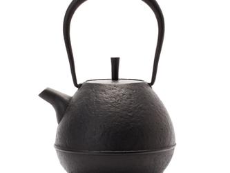 鉄瓶 「Egg・大」黒 南部鉄器 空間鋳造の画像