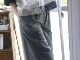 久留米絣と浴衣反物からトップスの画像