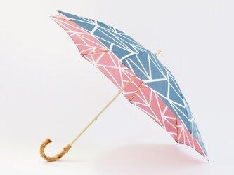 手ぬぐい日傘 かさねの色目〜氷結ぶ〜の画像