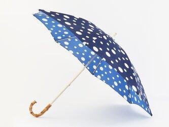 手ぬぐい日傘 かさねの色目〜雪あられ〜の画像