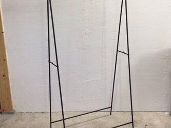 j様オーダー品 折りたたみ式アイアンハンガーラックの画像