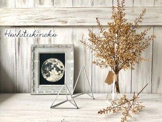 星月猫★「ナンテンの蕾のみで作ったシャビーシックなスワッグ大サイズ」おまけ小枝2本付 ドライフラワー 花束の画像