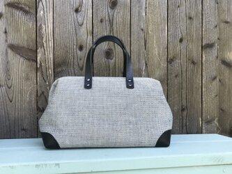 Boston bag  M size [Växbo Lin]の画像
