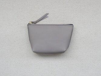本革のポーチ⑨ grayの画像