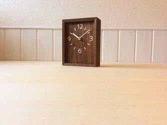テーブルクロック BOXの画像