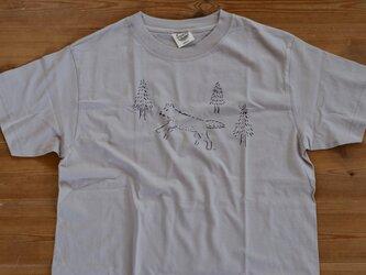 森のおおかみ Tシャツ Mサイズの画像