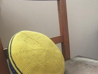 コットンカラーベレエ帽の画像