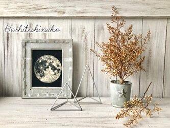 星月猫★「ナンテンの蕾のみで作ったシャビーシックなスワッグ中サイズ」おまけ小枝2本付 ドライフラワー 花束の画像
