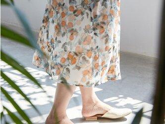 【受注製作】美しい100%シルクで・スカートシルク の画像