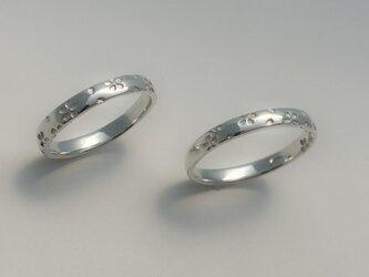 【桜指輪】-silver925-の画像