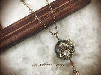 首飾り:月光の花 (brown)の画像