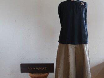 コットンナイロン「濃いめのベージュ」 78cm丈の画像