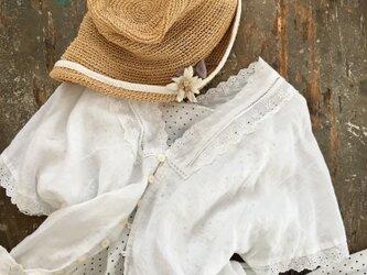 エーーーデルワイス  ♬.....suMire-bouquet布花コサージュの画像