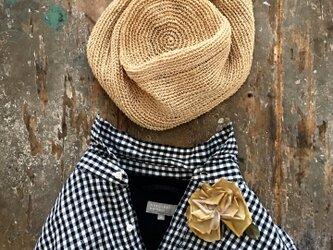 夏色薔薇...suMire-bouquet布花コサージュの画像