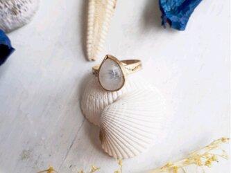 【10号】beach ring -white moon-の画像