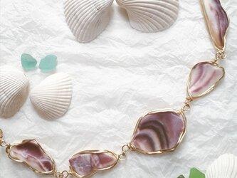 purplish shell blaceletの画像