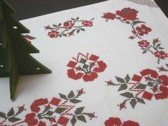 ★華やか★東欧柄テーブルクロスの画像