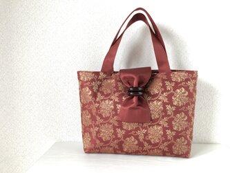 帯バッグ〜花柄〜の画像