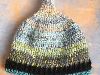 爽風の巣  LL とんがり帽子 ニット帽 の画像