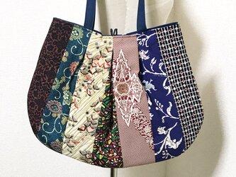 和布の切替バッグの画像