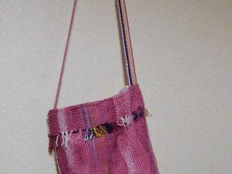 mirikoの手織り☆ショルダーバッグの画像
