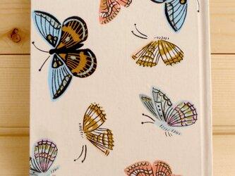手製本ノート バタフライ 書籍用紙の画像