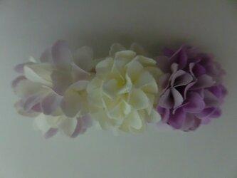 最高の綺麗を叶える桐谷さんの趣深い姫菊ヘアクリップの画像