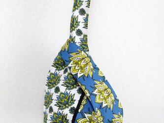 アフリカ布バッグ / カンガのノットバッグの画像