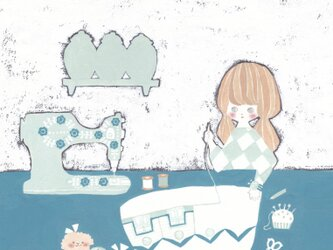 ポストカード2枚セット「suki o tukuru」の画像