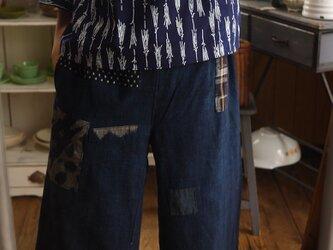浴衣反物からふんわり袖トップスの画像