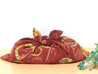 あずま袋 茶色 和(なごみ) お弁当包み ファスナー無しのバッグインにもの画像