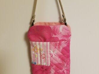 スマホケース ハワイ柄 ピンクの画像