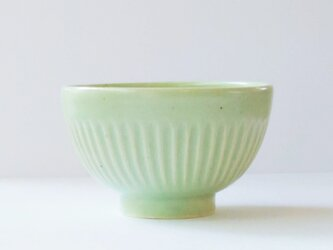 しのぎのご飯茶碗(青りんご)の画像