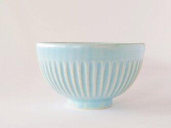 しのぎのご飯茶碗(パステルブルー)の画像
