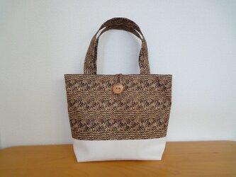 手編み風*ミニトートバッグの画像