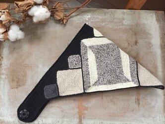 三角巾ヘアーバンドの画像