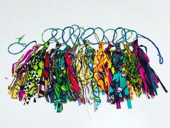 タッセルガーランド(アフリカンバティック)の画像