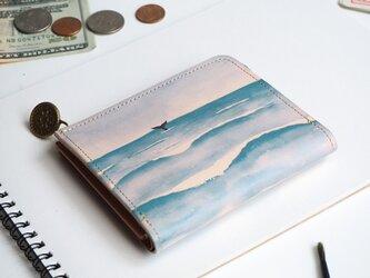 L字ファスナー ウォレット(ウェーブ) 牛革 レディース メンズ 財布 LL-1157の画像