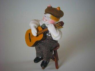 縮緬福猫 ギター その三の画像
