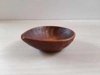 拭き漆の片口小鉢の画像