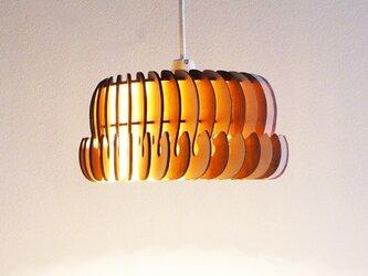 「ぞう」木製ペンダントライトの画像