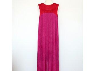 ◆即納◆Syrma[シュルマ] マキシ・ワンピース / ピンク系2 / Mサイズの画像